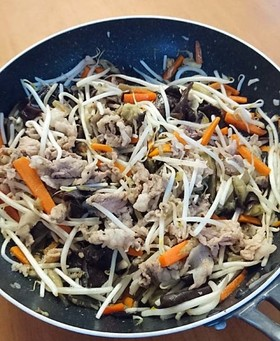 夏バテ予防 キクラゲの肉野菜炒め