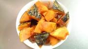 黄金比!簡単!減塩!無水!かぼちゃの煮物の写真