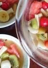 甜菜糖で♪美味しい☆フルーツポンチ