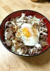 甘辛サラダ牛丼