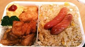 ☆油淋鶏&チャーハンの中華弁当☆