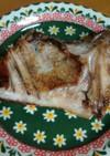 ぶりカマの塩焼き