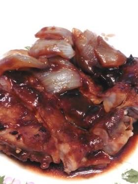 鶏モモ肉の照り焼き!味噌甘酢ソース