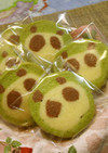 アイスボックスクッキー「パンダ」♪