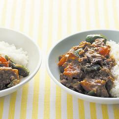 豚肉と夏野菜のカレー