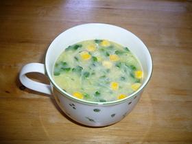 栄養満点☆カップスープ