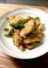 鶏胸肉の塩麹野菜炒め