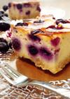 ◆ブルーベリーヨーグルトチーズケーキ◆