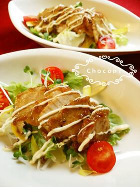 簡単手順☆煮豚サラダ