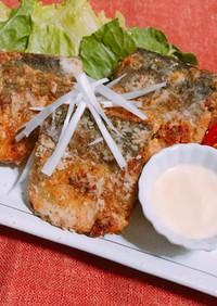 夕飯に!サバのキムチフリッター