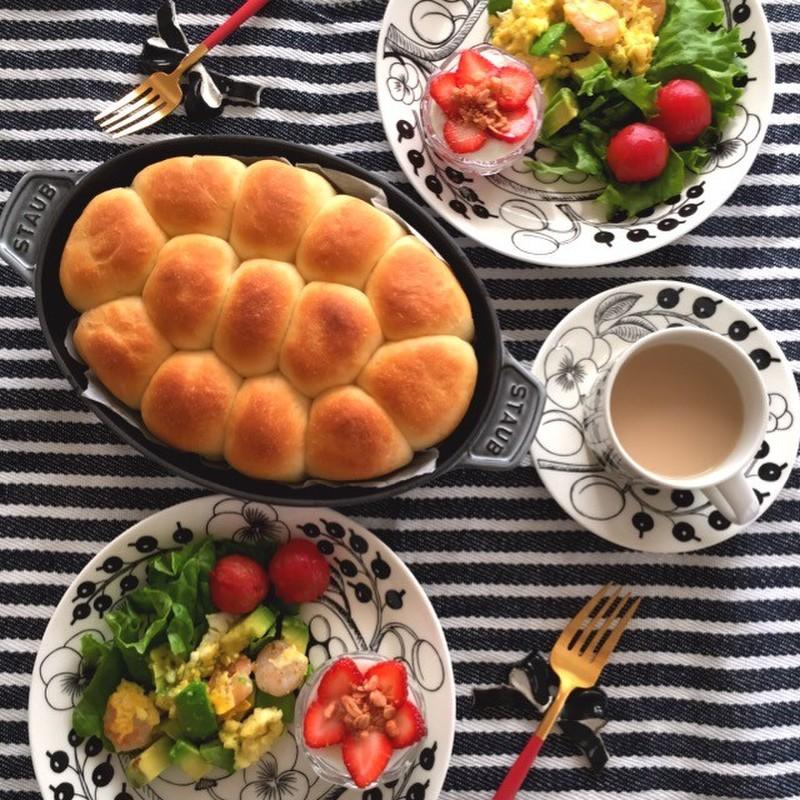 ホット プレート 朝食