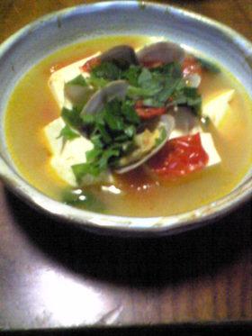 豆腐のボンゴレビアンコ^^
