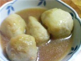 里芋の蕎麦がき風