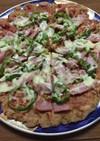 パン耳ピザ