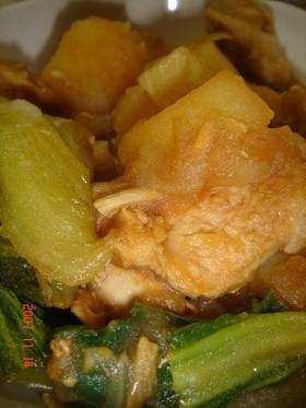 鶏じゃがすき焼き煮