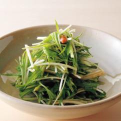 水菜の梅はちみつ和え