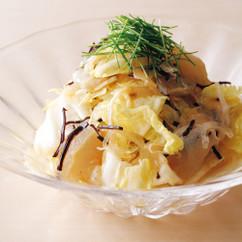 白菜とふぐのサラダ