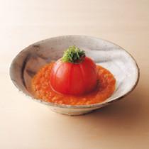 丸ごとトマトの野菜ドレッシング