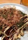 簡単節約晩ごはん⑤豆腐のお好み焼き