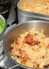 簡単! 焼き鳥缶とホタテ缶の炊き込みご飯