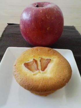 リンゴのマフィン