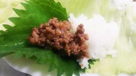 豚☆ひき肉味噌☆手巻きレタス包み