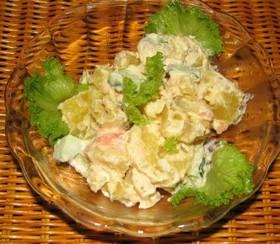 さつま芋と明太子のサラダ