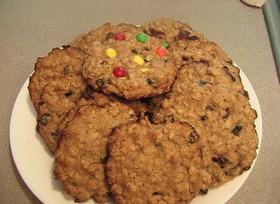 アメリカのオートミールがいっぱいクッキー
