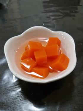野菜ジュースでヘルシー寒天ゼリー