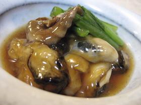 ぷるるん牡蠣の治部煮風♡