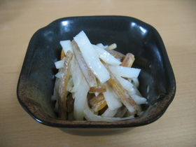 ☆柿と大根の味噌マヨサラダ☆