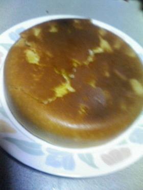 炊飯器でパイナポー&アップルのケーキ