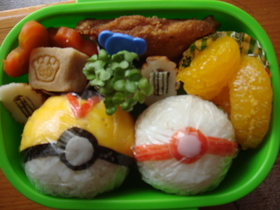 。+゚☆゚子供のお弁当19゚☆゚+。