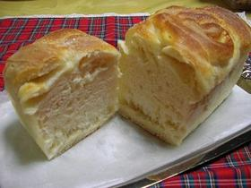 基本の生地でマヨ&シュガーマーブル食パン