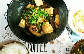 簡単さっぱり!ナスと豆腐のみぞれポン酢煮