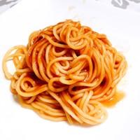 簡単!節約!ピリ辛最高〜トマトジュース麺