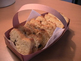 ココナツレーズンベジパウンドケーキ
