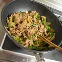 牛バラ肉とピーマンの炒め物~プルコギ風