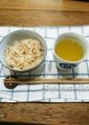 緑茶で炊く茶飯〈シミ対策〉〈ガン予防〉