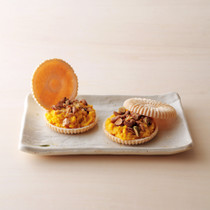 かぼちゃ白味噌きんとん もなか仕立て