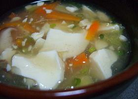 ◆あったか!!中華あんかけスープ