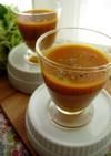 南瓜と野菜ジュースの冷製スープ