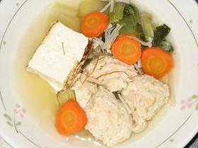 簡単☆トリ団子スープ