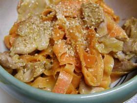 豚肉と人参のマヨ味噌炒め(お弁当にも♪)