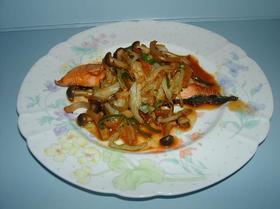 鮭の簡単ちゃんちゃん焼き