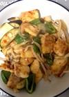 鱈と野菜のチリソース