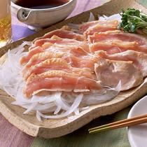 薩摩地鶏のたたき