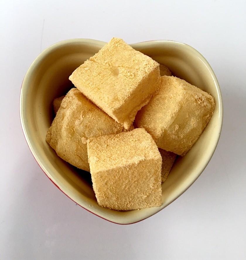 簡単すぎる片栗粉でミルクもち(きな粉)