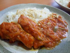 チキンのトマト風味カレー