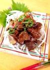 鶏レバーの梅酢煮